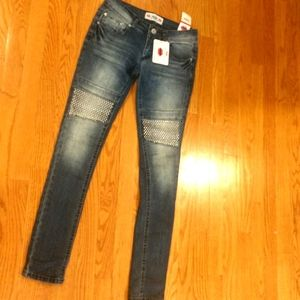 Vintage New Studded What about me stretch Jeans5/6
